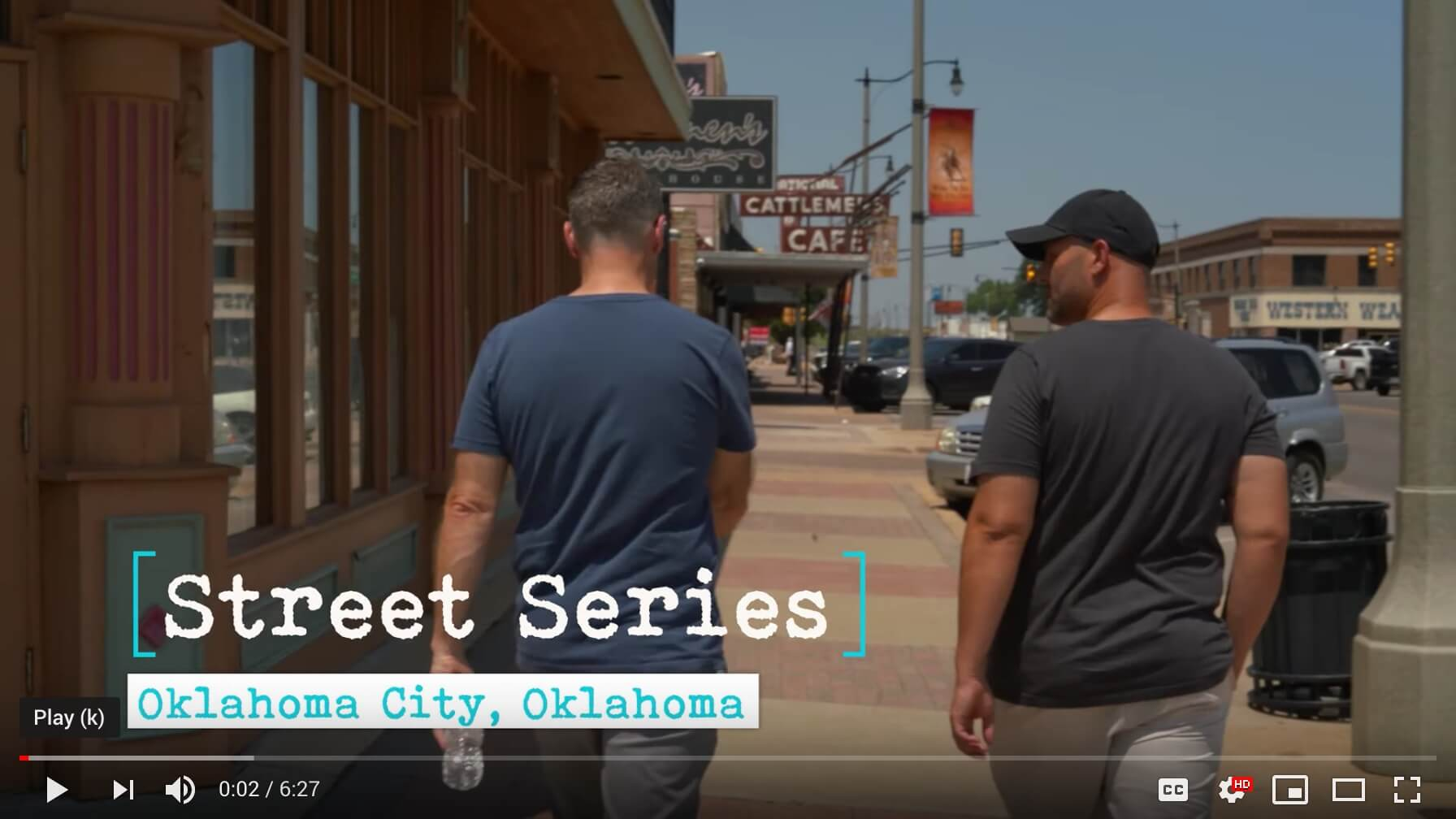 StreetSeriesOKC YouTube video screenshot